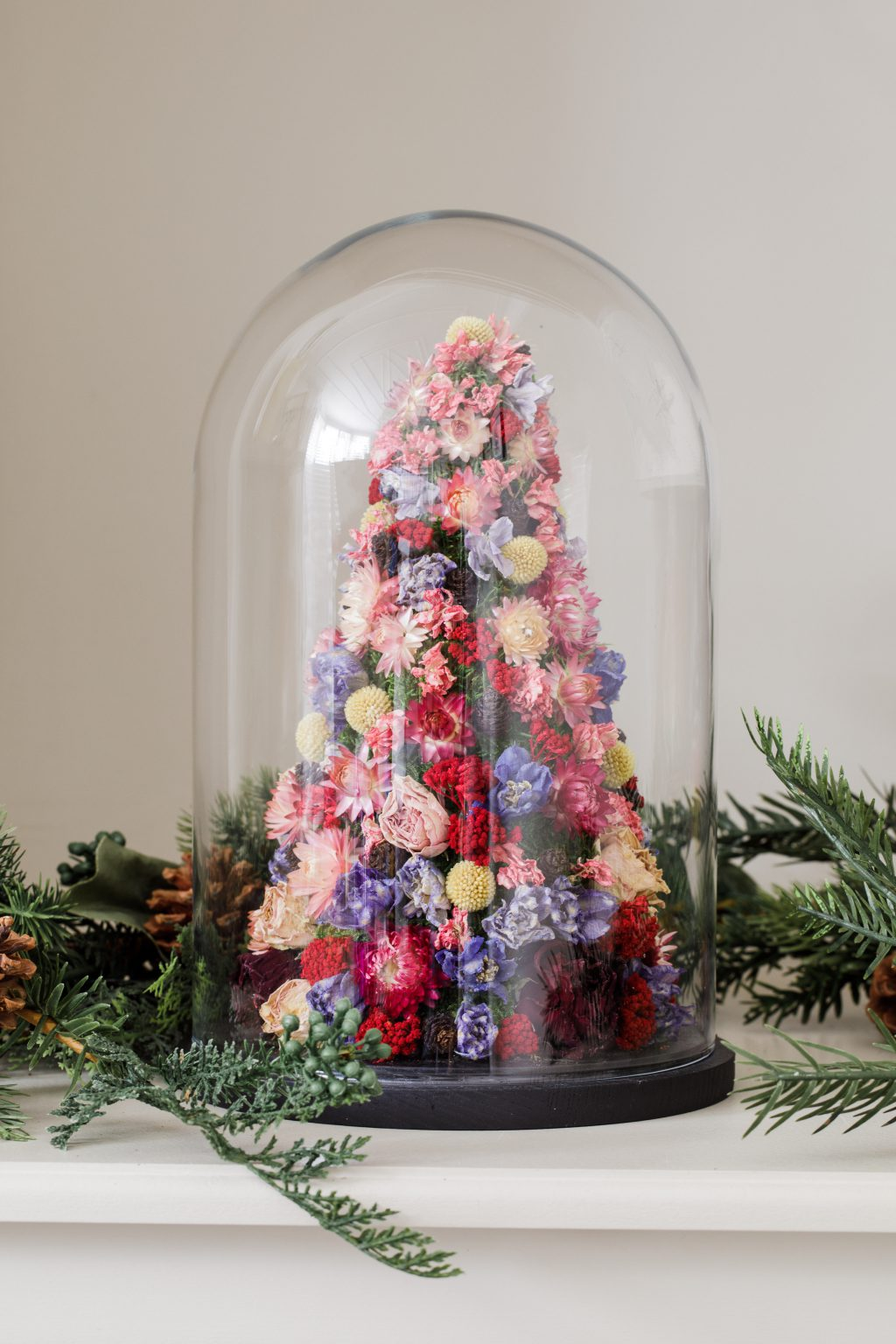 Indeco-Flower-Dome-Christmas-Tree-Merry- Berry 2020-06
