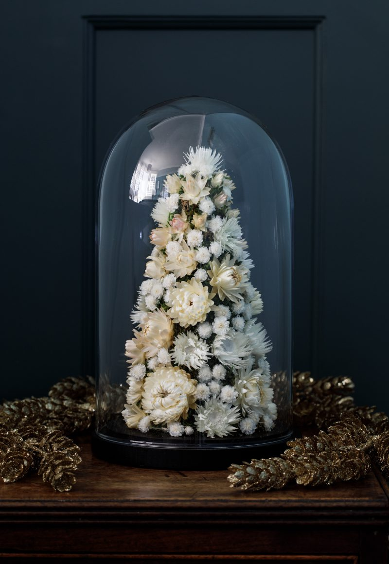 Indeco-Flower-Dome-Christmas-Tree-White- Christmas 2020-09