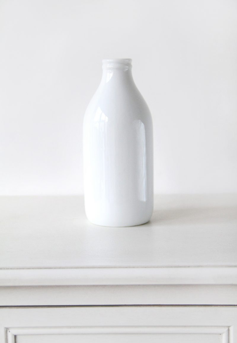 Ceramic-Milk-Bottle-Vase