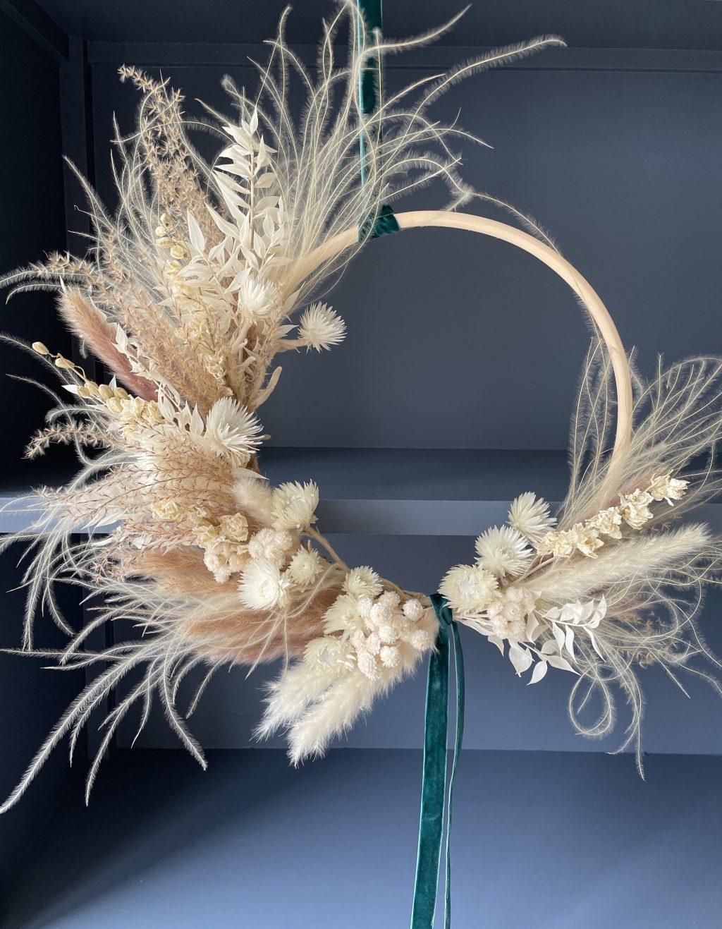 Luxury Dried Flower Wreath