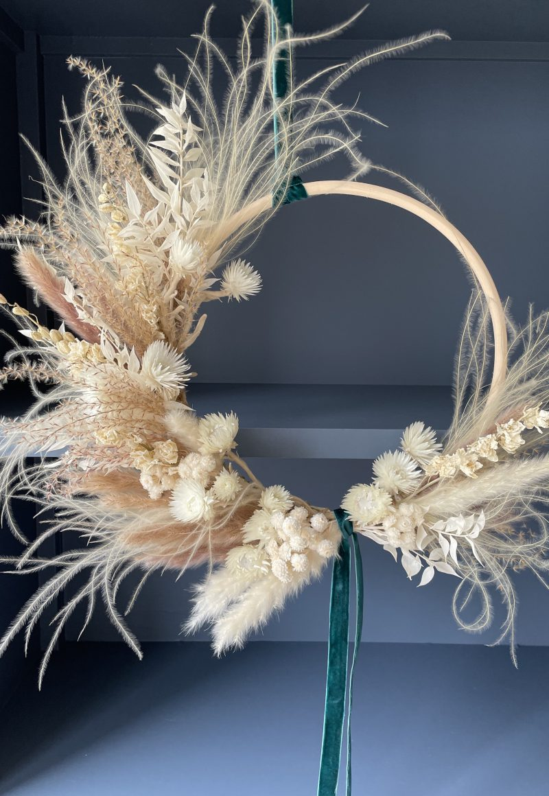 Luxury Dried Flower Wreath